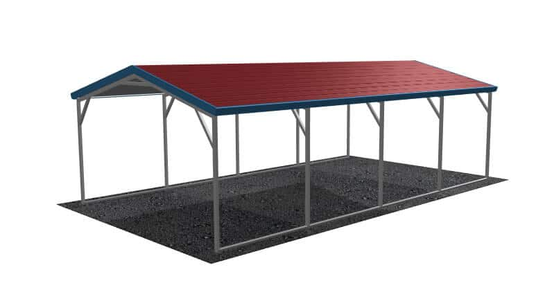 12x21-aframe-roof-carport-picture