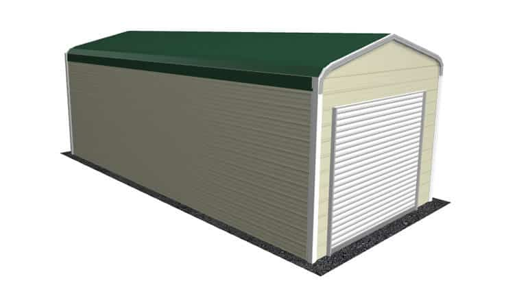 12x26 Regular Roof Garage