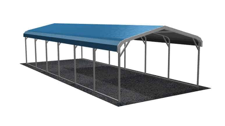 12x31 Regular Roof Carport
