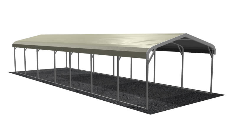 12x36 Regular Roof Carport