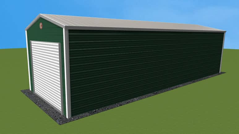 12x36 Residential Style Garage