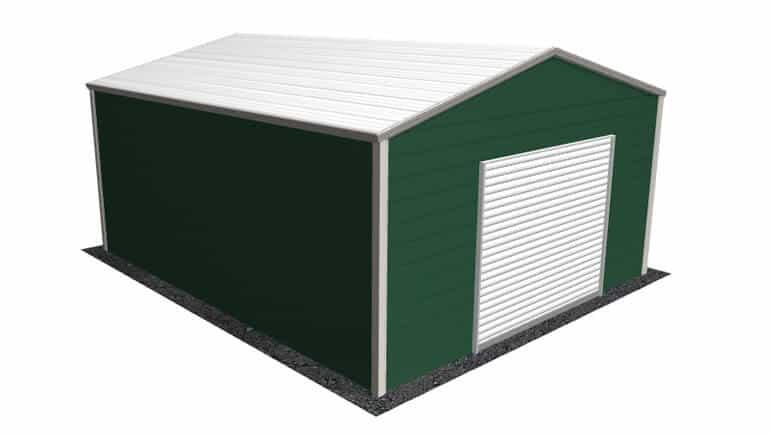 18×21 A-Frame Roof Garage