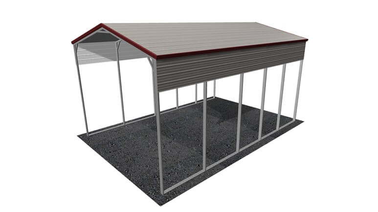 18x26 A-Frame Roof RV Cover