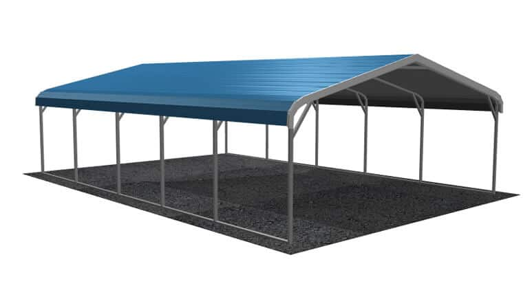 18x26 Regular Roof Carport