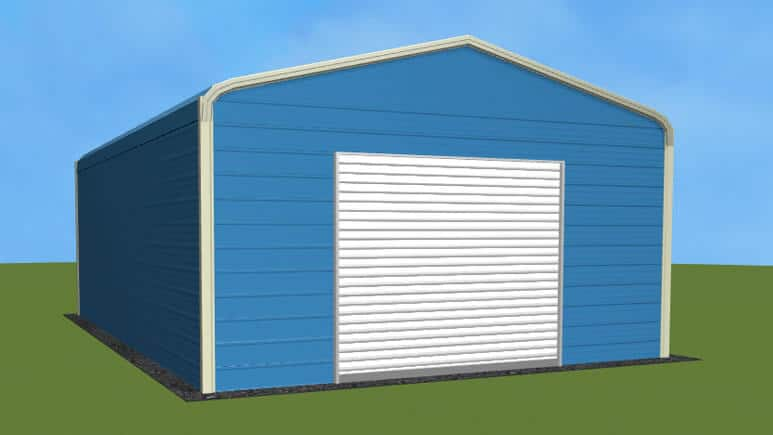 18x26 Regular Roof Garage