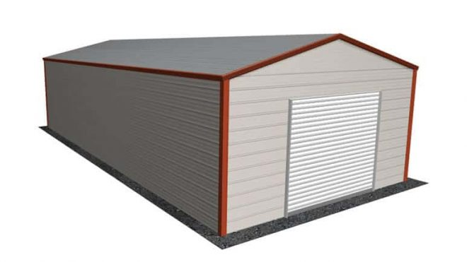 18\' x 36\' A-Frame Roof Metal Garage|Lowest Buy Online Price $2100
