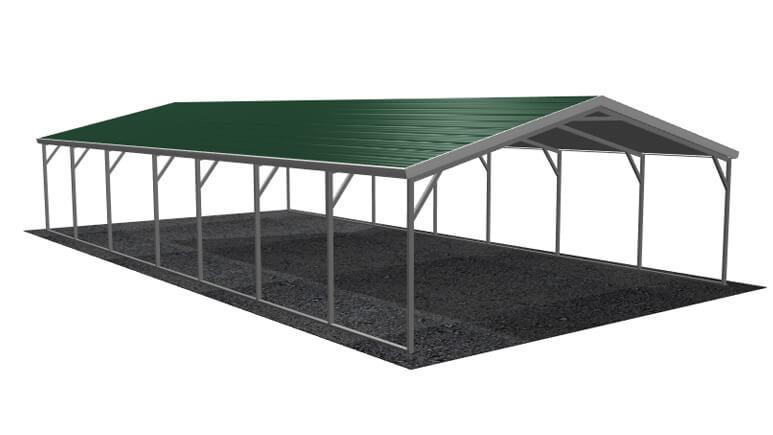 18\' x 36\' A-Frame Metal Carport   Lowest Buy Online Price $2100