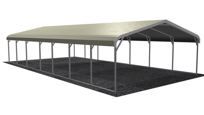 18x36 Regular Roof Carport