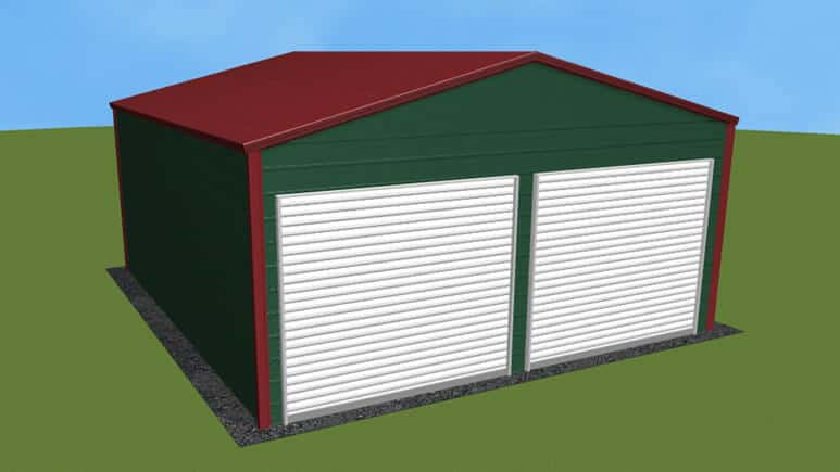 20x21-a-frame-roof-garage-picture