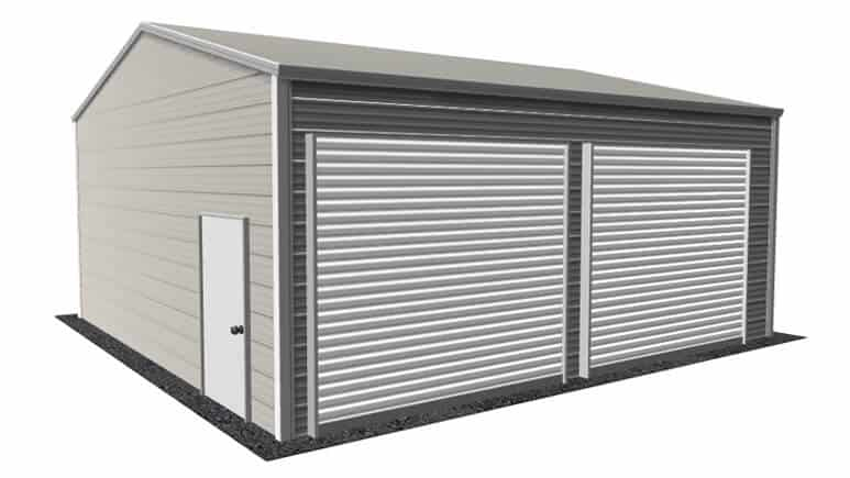 20x21 Side Entry Garage