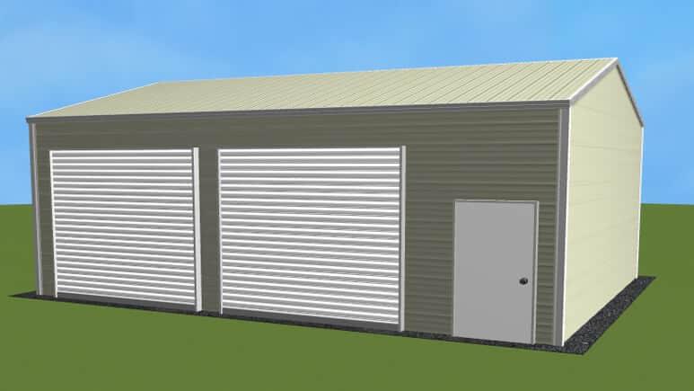 20x26 Side Entry Garage