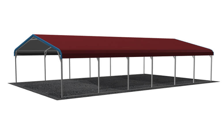 20x31 Regular Roof Carport