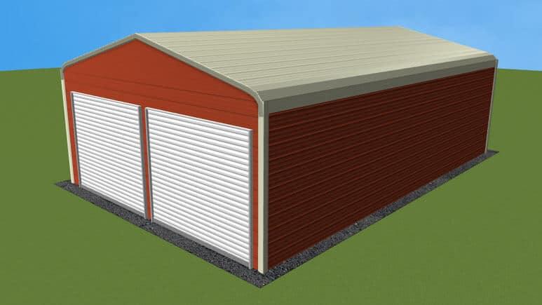 20x31 Regular Roof Garage