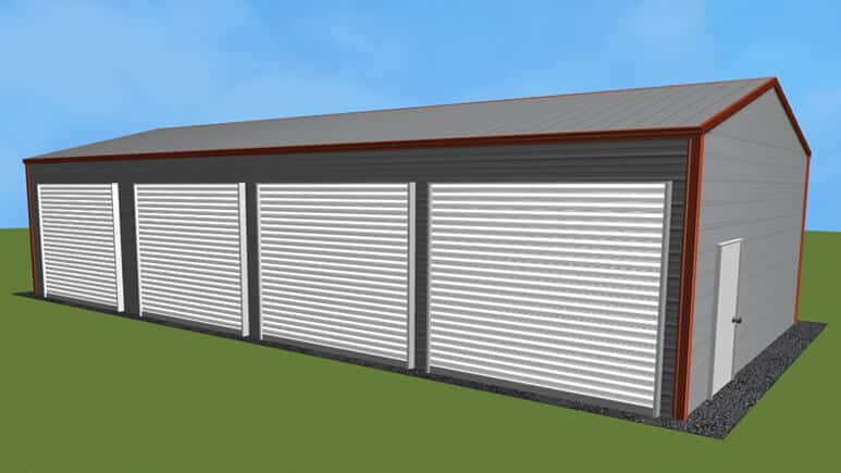 20x41 Side Entry Garage