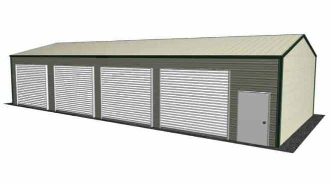 Custom Built Extra Wide Metal Garages Specially Designed