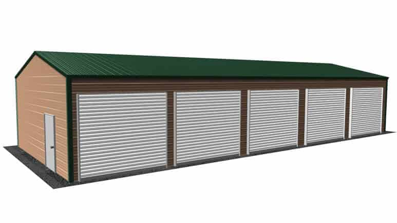 20x51 Side Entry Garage