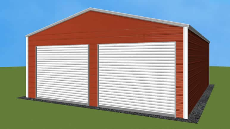22x26 Residential Style Garage