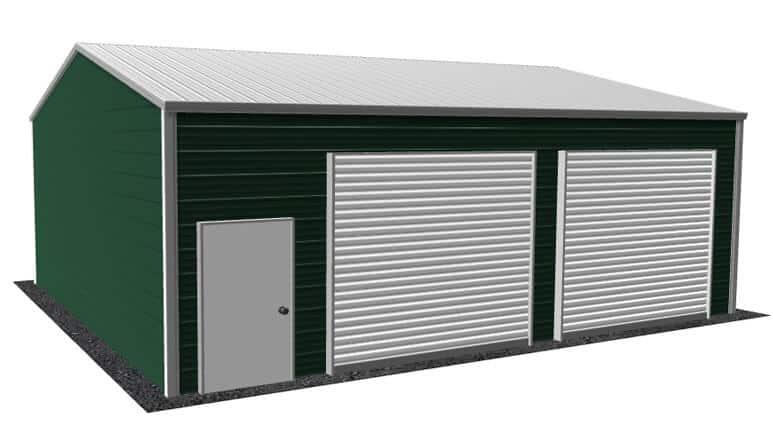 22x26 Side Entry Garage