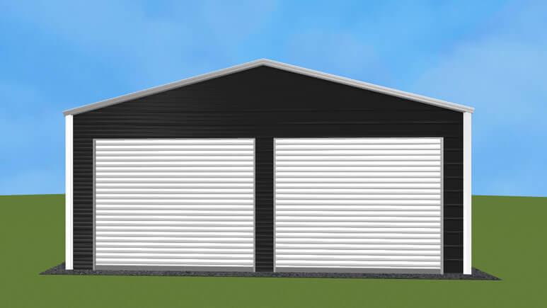 22x31-a-frame-roof-garage-picture