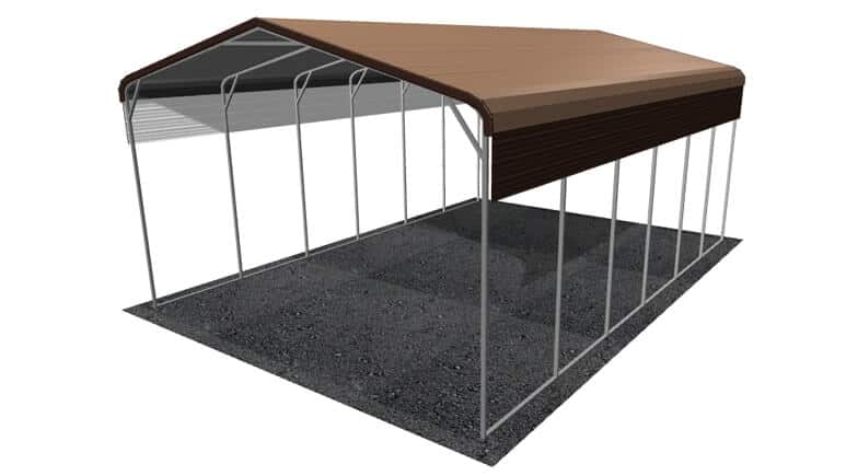 22x31 Regular Roof RV Cover