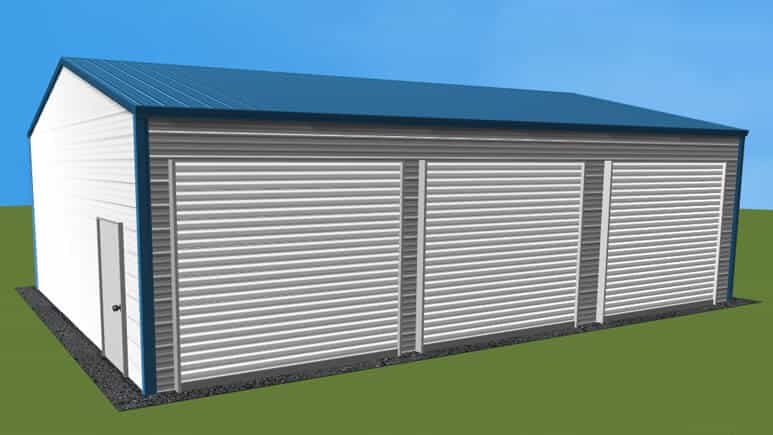 22x31 Side Entry Garage