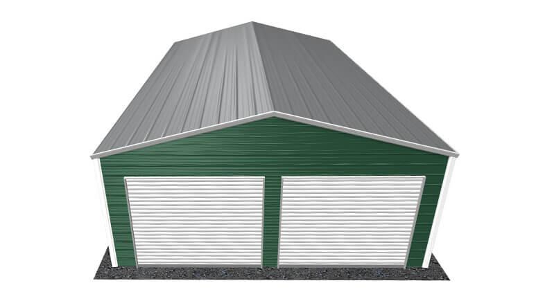 22x36 A-Frame Roof Garage