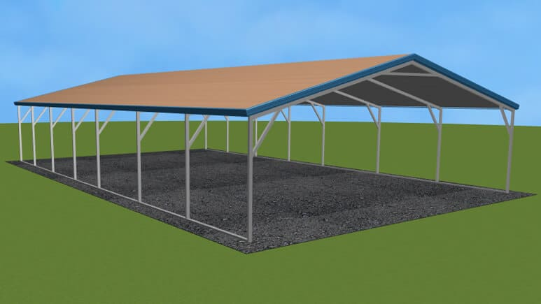 22x36 A-Frame Roof Carport