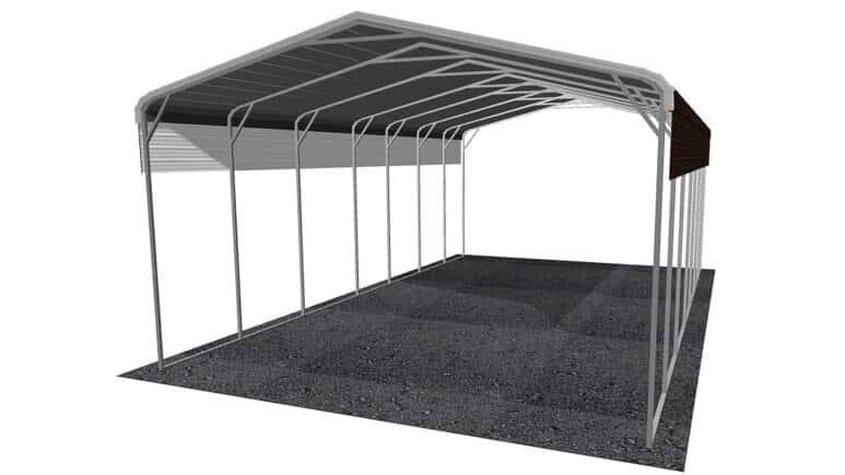 22x36 Regular Roof RV Cover