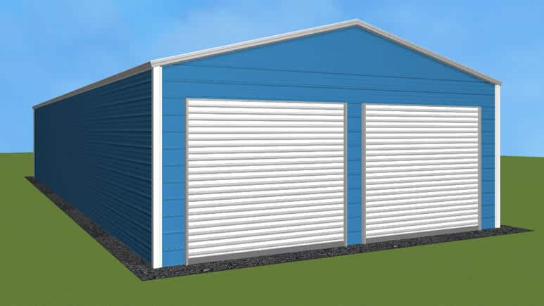 22x46 Residential Style Garage