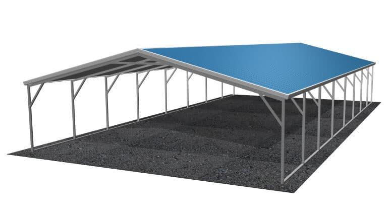 24x21 A-Frame Roof Carport