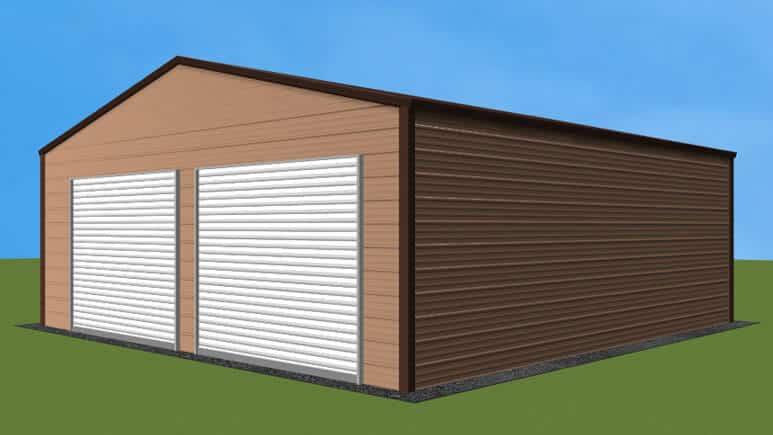 24x26 A-Frame Roof Garage
