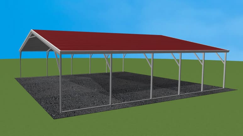 24x26-aframe-roof-carport-picture
