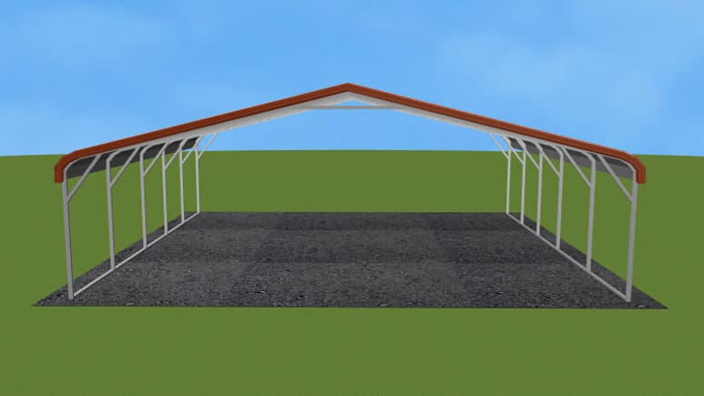 24x26 Regular Roof Carport