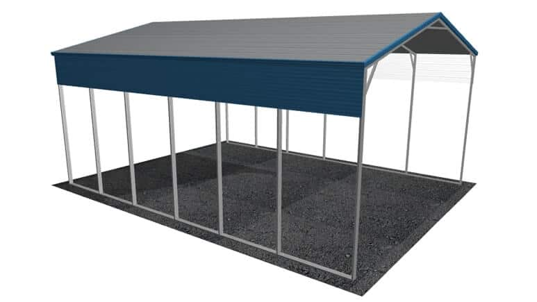 24x31 A-Frame Roof RV Cover
