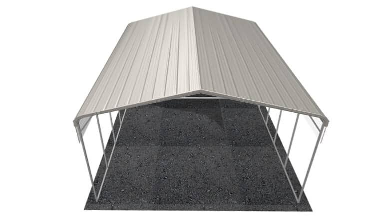 24x31 Regular Roof RV Cover