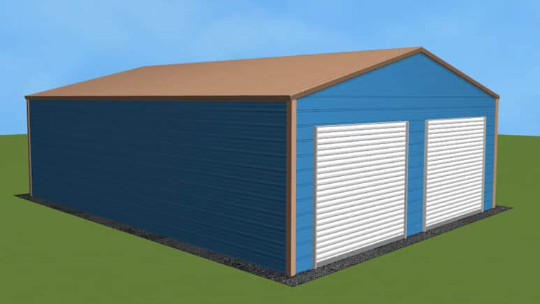 24x31-residential-style-garage-picture