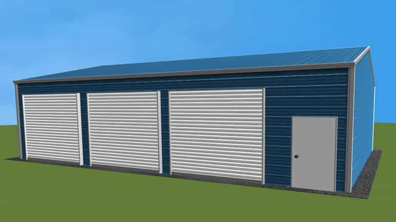 24x36 Side Entry Garage
