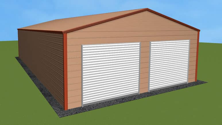 24x41 Residential Style Garage