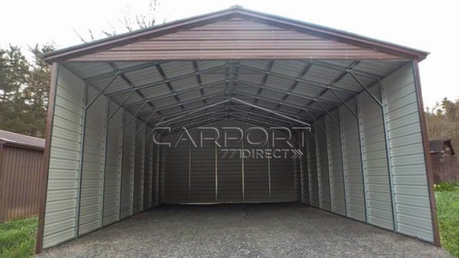 26-30' Wide Carports