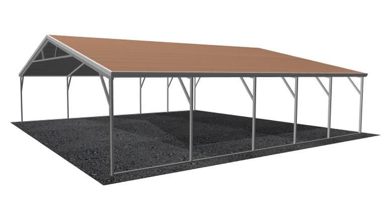 26x26-aframe-roof-carport-picture