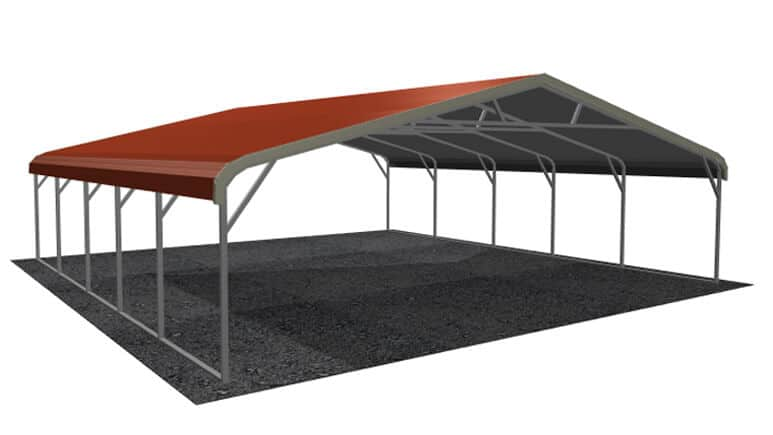 26x26 Regular Roof Carport