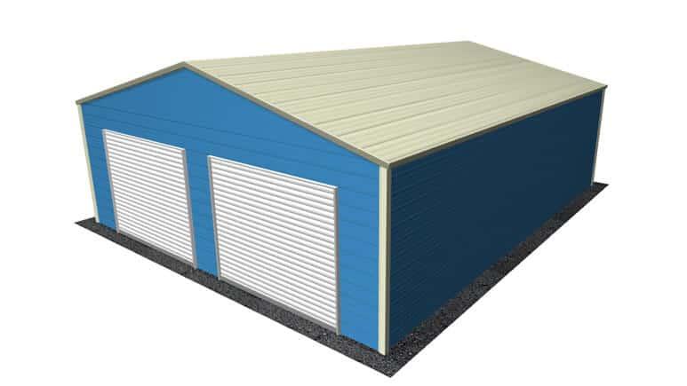 26x31 A-Frame Roof Garage