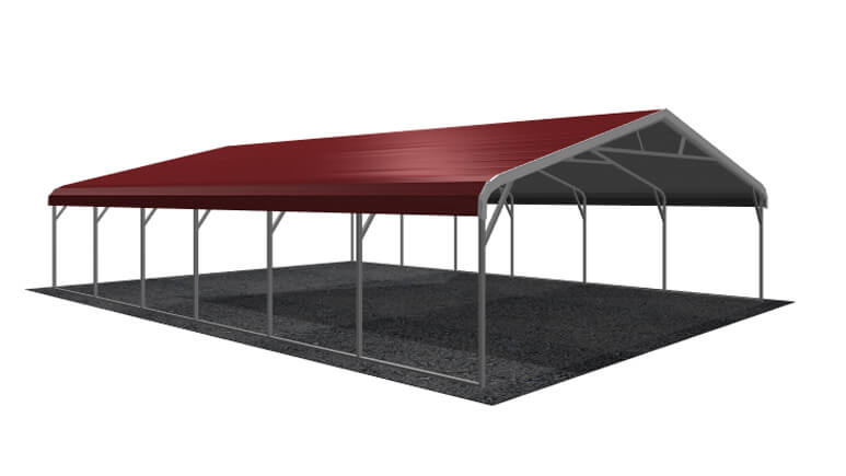26x31 Regular Roof Carport