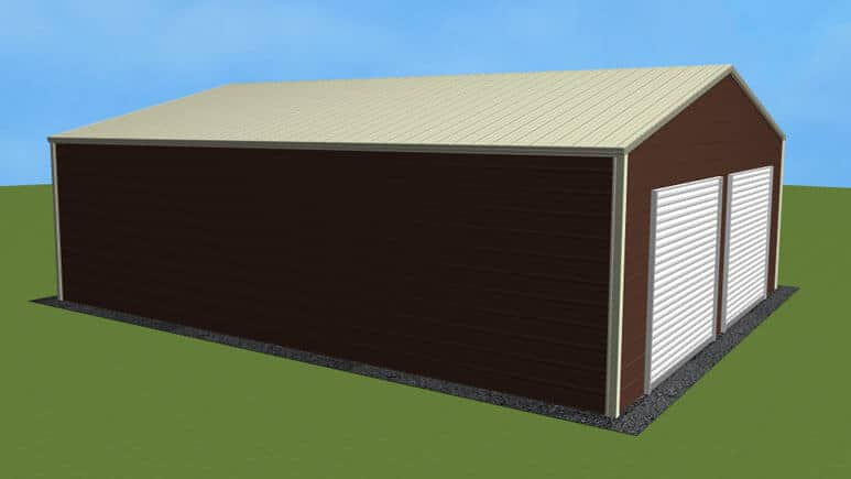26x31 Residential Style Garage
