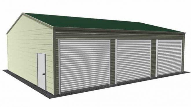Three Car Garages Triple Wide Metal Garages Best Sizes