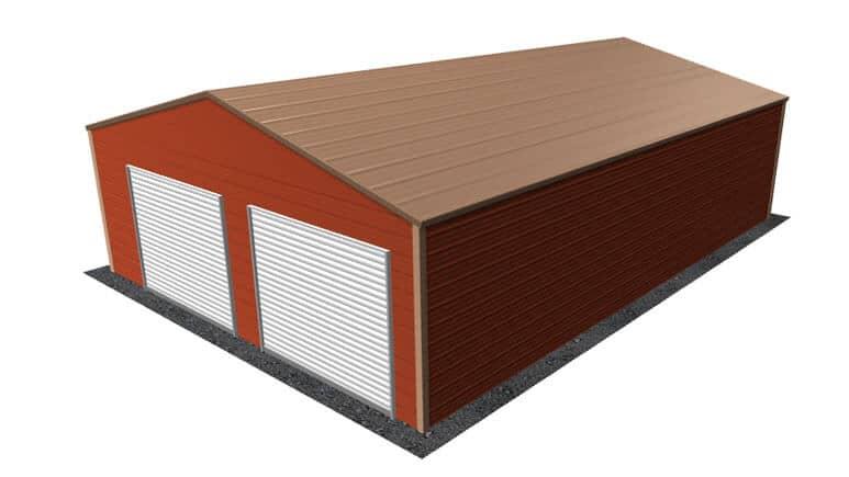 26x36 A-Frame Roof Garage