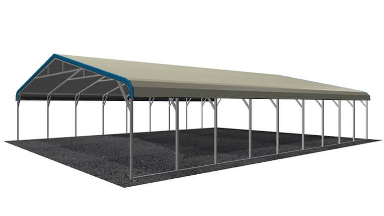 26x36 Regular Roof Carport