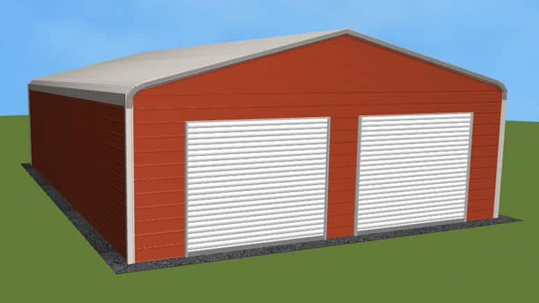 26x36 Regular Roof Garage