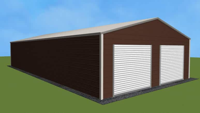 26x51 Residential Style Garage