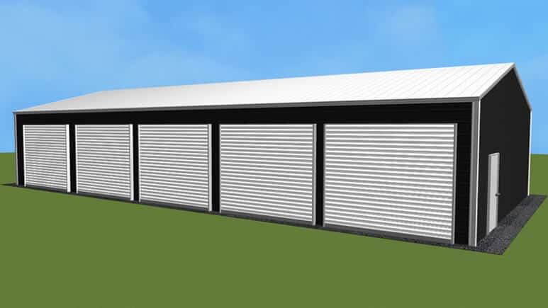 26x51 Side Entry Garage